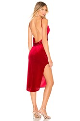 Katie May Don't Rub Me Wrong Dress Red