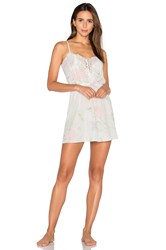 Homebodii Sophia Lace Nightie White
