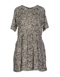 Essentiel Short Dresses Grey