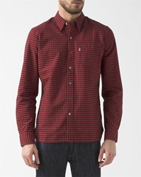 Levi's Red Gingham Oxford Shirt