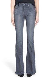 Women's Paige Denim 'Bell Canyon' High Rise Flare Jeans Luna Grey