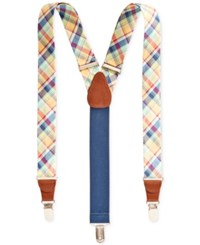 Club Room Men's Spring Suspenders Only At Macy's Yellow
