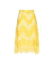 Carven Lace Skirt White