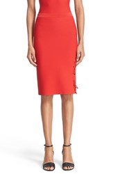 Alexander Wang Women's Lace Up Knit Pencil Skirt