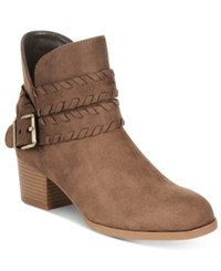 Styleandco. Style Co. Dyanaa Booties Only At Macy's Women's Shoes Dark Olive Green