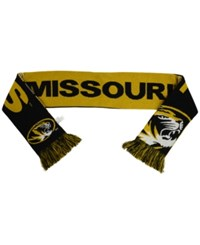 Forever Collectibles Missouri Tigers Reversible Split Logo Scarf Black