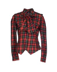 Dr. Denim Jeansmakers Shirts Red