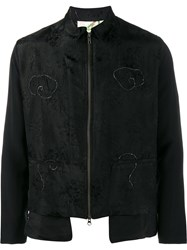 By Walid Dragon Kimono Jacket Black