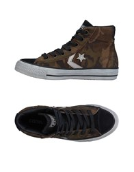 Converse Cons Sneakers Military Green