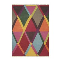 Brink And Campman Kashba Jewel Rug 140X200cm Red Multi