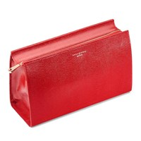 Aspinal Of London Large Cosmetic Case Red