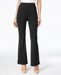 Ny Collection Pull On Bootcut Pants Black