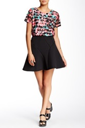 Romeo And Juliet Couture Skater Skirt Black