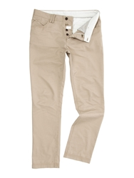 Linea Marlon Tailored Chinos Biscuit