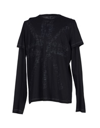 Richmond Denim T Shirts Black
