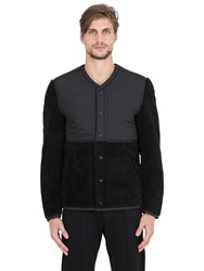 Adidas By Wings And Horns Sherpa Pile Nylon Jacket