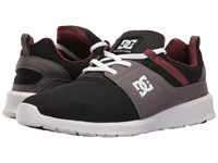 Dc Heathrow Armor Oxblood Skate Shoes Black