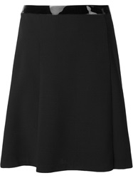 Ralph Lauren Black Label Ralph Lauren Black Midi Straight Skirt