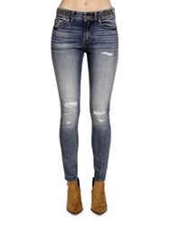 Cult Of Individuality Gypsy High Rise Studded Skinny Fit Jeans Aeon