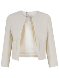 Closet Pocket Quilted Jacket Cream
