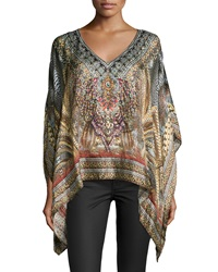 Camilla Spirit Of The Abyss V Neck Top