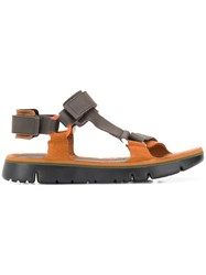 Camper Oruga Sandals Brown