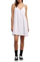 Volcom You Want This Strappy Dress White