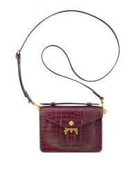 Anne Klein Serena Small Crossbody Bag Garnet