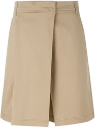 Jil Sander 'Ascanio' Shorts Nude And Neutrals