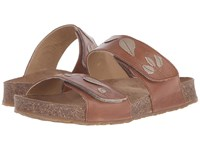 Haflinger Lucy Walnut Women's Sandals Brown