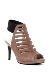 Revolution Absolutely Not Ankle Strap Pump Beige