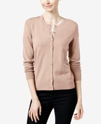 Charter Club Long Sleeve Cardigan Only At Macy's Ballet Pink