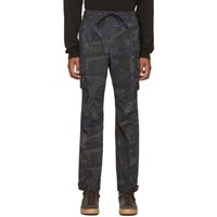 John Elliott Blue Panorama Cargo Pants