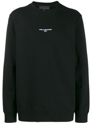 Stella Mccartney Logo Print Sweatshirt Black