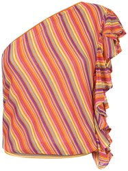Cecilia Prado Helenice One Shoulder Top Multicolour