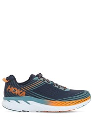 Hoka One One Clifton 5 Running Sneakers Storm Blue