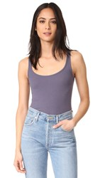 Vince Scoop Neck Tank Plum