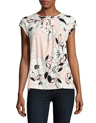 Karl Lagerfeld Bow Top Pink