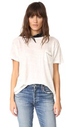 Banner Day Early Evening Pocket Tee Bone