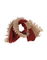 Forte Forte Accessories Oblong Scarves Brick Red