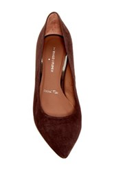 Donald J Pliner Rome Kitten Heel Pump Brown