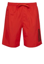 Adidas Performance Swimming Shorts Core Red Black