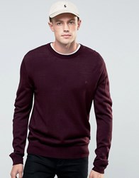 French Connection Crew Jumper Red