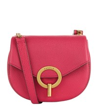 Sandro Leather Cross Body Bag Pink