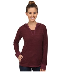 Outdoor Research Zenga Hoodie Pinot Women's Sweatshirt Red