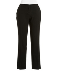 Vince Camuto Petite Skinny Ankle Pants Rich Black