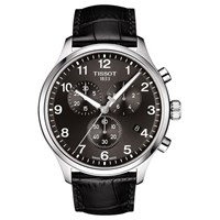 Tissot Men's Classic Chronograph Date Leather Strap Watch