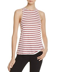 Frame Army Stripe Tank 100 Exclusive Red White