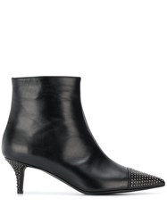Marc Ellis Studded Booties Black