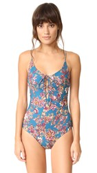 Tavik Monahan One Piece Terrace Floral